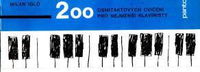 200 osmitaktových cvičení pro nejmenší klavíristy