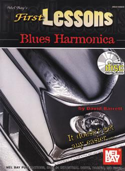 First Lessons - Blues Harmonica + CD