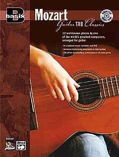 Basix Mozart for guitar - guitar & tab + CD