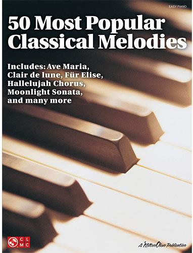 50 Most Popular Classical Melodies - easy piano