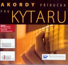 Akordy pro kytaru - 800 akordů pro cvičení, hraní doprovodu nebo komponování
