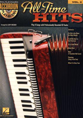 Accordion play along - All-time hits + CD