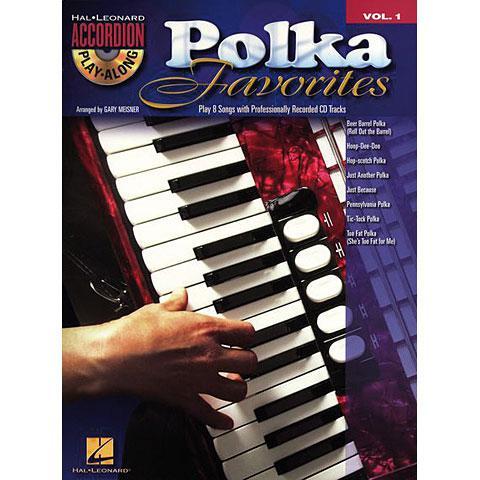 Accordion play along - Polka Favorites + CD