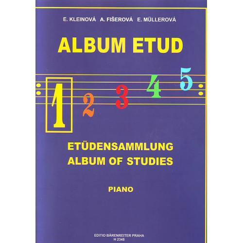 Album etud 1 - E.Kleinová, A.Fišerová, E.Mullerová