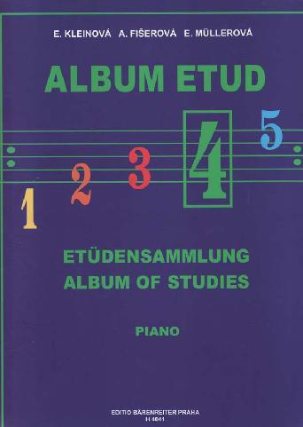 Album etud 4 - E.Kleinová, A.Fišerová, E.Mullerová