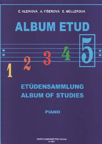 Album etud 5 - E.Kleinová, A.Fišerová, E.Mullerová