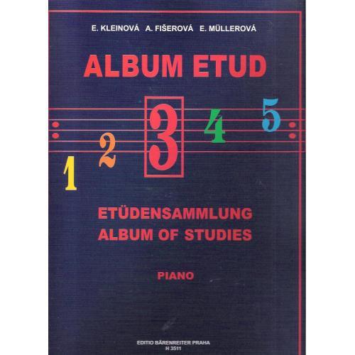Album etud 3 - E.Kleinová, A.Fišerová, E.Mullerová