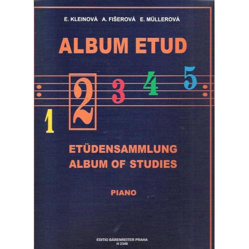 Album etud 2 - E.Kleinová, A.Fišerová, E.Mullerová