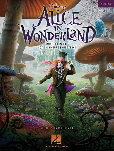 ALICE IN WONDERLAND (music from the movie) - piano solos