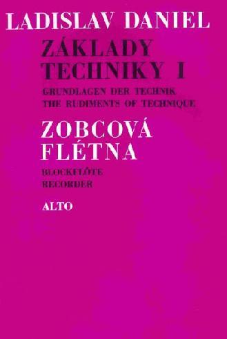 Základy techniky 1 (stupnice a akordy) - Ladislav Daniel - zobcová flétna
