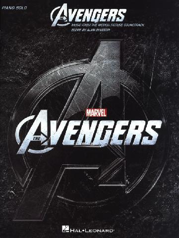 Avengers - hudba z filmu - piano solos