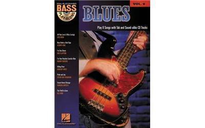BASS PLAY-ALONG 9 - BLUES + CD