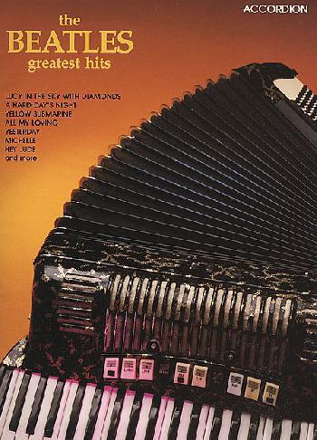 Beatles Greatest Hits accordion
