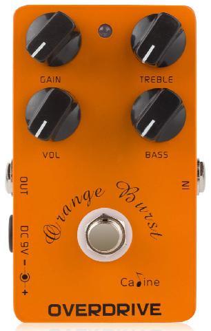 Caline CP-18 Orange Burst Overdrive