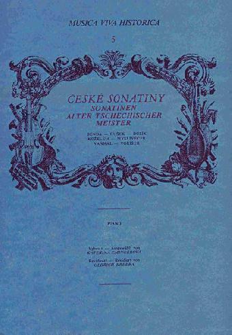 České Sonatiny piano solos