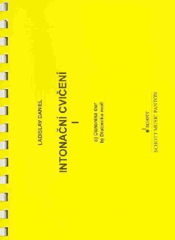 Intonační cvičení 1 (diatonika dur / moll) - Ladislav Daniel