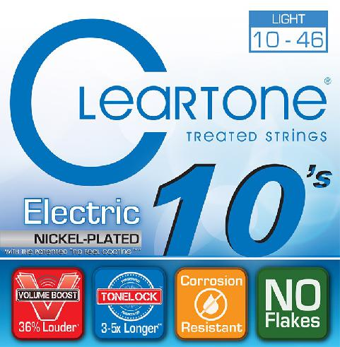 Cleartone Electric Treated Strings