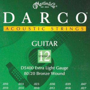 Darco Phosphor Bronze Acoustic 12 Strings D5400