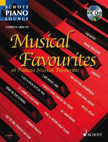 Musical Favourites piano/chords + CD