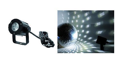 Eurolite LED spot 3W, 3200K, 6°