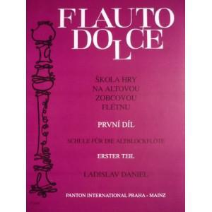 Flauto Dolce 1 - ALTO by L.Daniel škola hry na altovou zobcovou flétnu