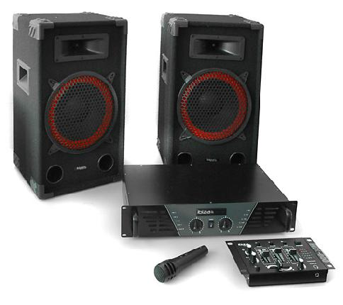 Ibiza DJ PA set
