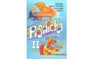 Písnička II - zpěvník pro II.stupeň základní školy - zpěv/akordy