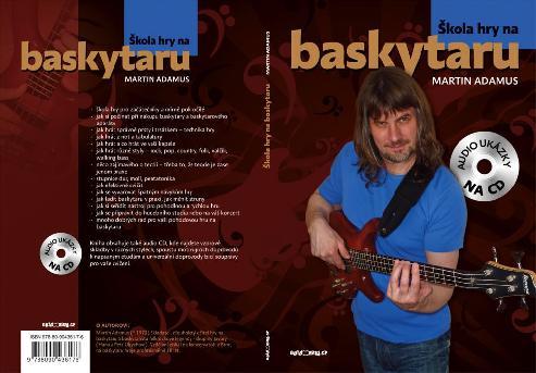 Škola hry na baskytaru - Martin Adamus + CD / bass & tab