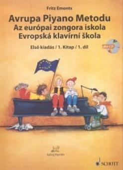 The European Piano Method v.1 / Evropská klavírní škola 1. díl
