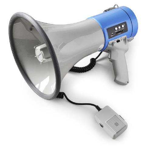 Megafón USB, SD