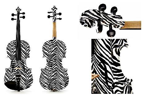 Violin Zebra 4/4