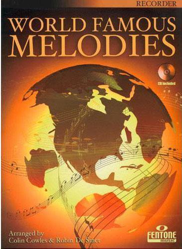 World Famous Melodies + CD/ zobcová flétna